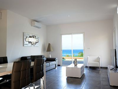 Photo for Villa luxury beachfront stunning views of the Gulf of Saint Florent