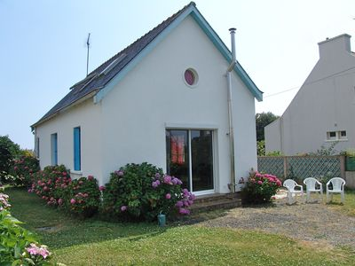 Photo for Fisherman house in garden - 150m from the beaches and port of Trévignon