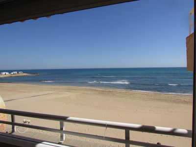 Photo for Beach Apartment for holiday rental, La Mata, Costa Blanca