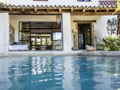 Photo for House with relax pool in Ronda, right along the famous bridge in very beautiful valley.