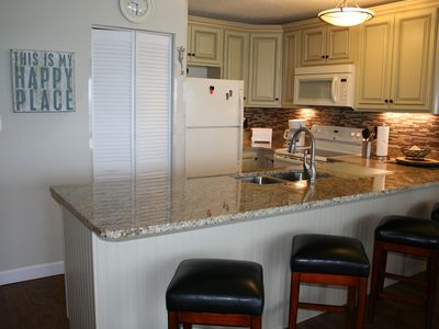 Photo for NEWLY RENOVATED, TOP FLOOR, GULF FRONT UNIT! BREATHTAKING VIEWS W/ BCH SERVICE!