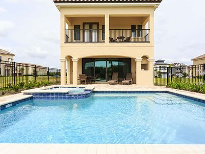 Photo for Luxury on a budget - Reunion Resort - Welcome To Contemporary 5 Beds 5 Baths  Pool Villa - 6 Miles To Disney