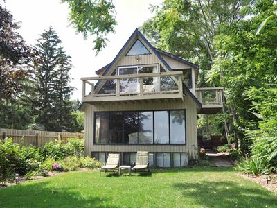 Photo for Spacious, newly remodeled house with sandy beachfront on Lake Huron