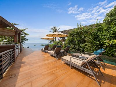 Photo for Up to 50% OFF | Baan Hinyai Luxe Beachfront Retreat, Infinity Pool