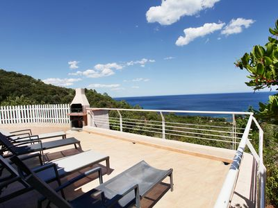 Photo for Terrace with sea view