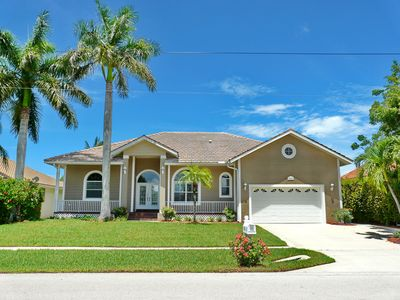 Photo for Inviting waterfront home w/ pool, hot tub & walk to Tigertail Beach