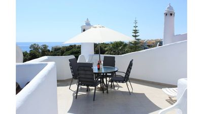 Photo for SUPER PENTHOUSE IN GARDENS OF CALAHONDA WITH BEAUTIFUL SEA VIEWS