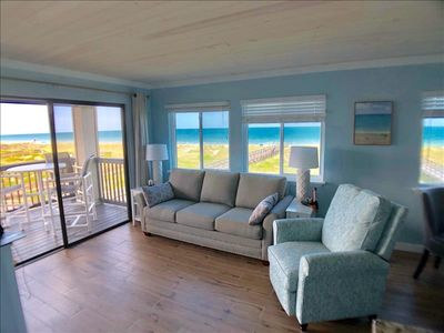 Photo for Breathtaking ocean views are yours to enjoy in newly remodeled 2 bedroom/2 bath, ocean front condo, sleeps 6.