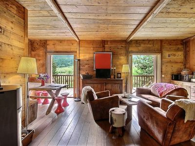 Photo for Charming chalet in Serre-Chevalier