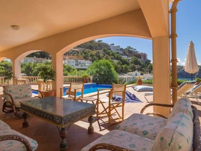 Photo for Villa Moragues with amazing views