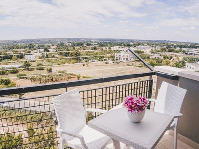 Photo for Panoramic House (Valle d'Itria, Apulia)