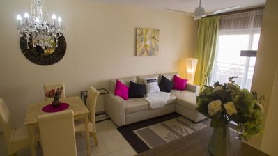 Photo for 5 min from Puerto Banus, 3 bedroom, 2 bathroom Modern flat w undeground parking