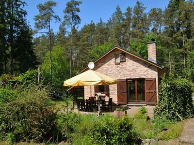 Photo for Cosy holiday home in stunning woodland setting