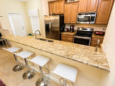 Photo for Modern Bargains - Paradise Palms Resort - Beautiful Contemporary 5 Beds 4 Baths Townhome - 4 Miles To Disney