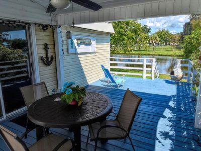 Photo for Flamingo Beach Cottage Oceanside Village Waterfront