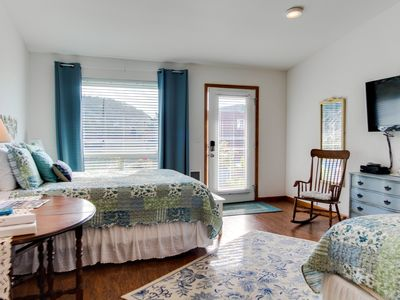 Photo for Dog-friendly floral suite w/ocean views & perfect location for a Yachats retreat