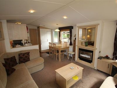 Photo for Luxury 2 bedroom Caravan on Hoburne Holiday Park in the Cotswolds. Sleeps 6