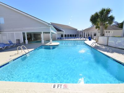 Photo for POOL VIEW with IT ALL! Wi-Fi * Newly UPGRADED * Restaurant * Close to the BEACH!