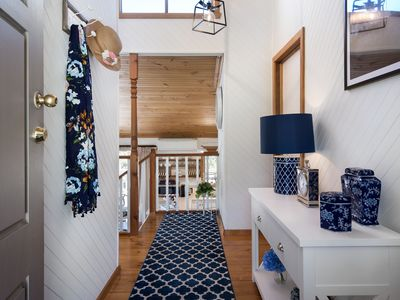 Photo for A cozy, inviting country retreat with a little modern flair.