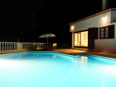 Photo for Beautiful villa with private pool, garden & forest