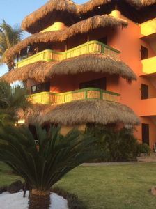 Photo for Oceanfront apartments located on the famous Zicatela surfing beach.