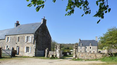 Photo for Historical heritage 3 km from the sea, the Manoir de Barneville
