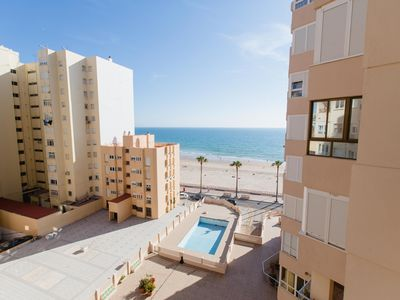 Photo for Apartamento Malibu Cadiz playa - Apartment for 4 people in Cádiz