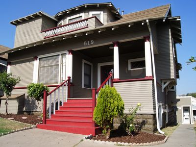 Photo for Beautifully Upgraded Victorian Property on Slope above Downtown San Diego.
