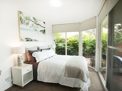 Photo for Cosy and spacious, luxury beach garden apartment