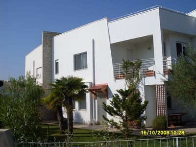Photo for FURNISHED VILLA WITH TASTE 1500 meters from the sea in a residential village.