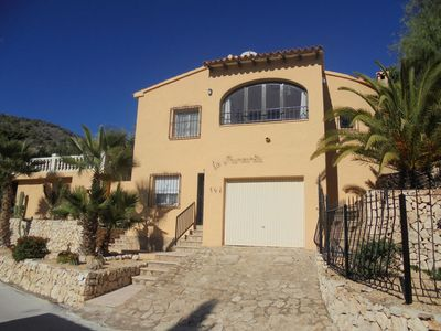Photo for Calpe: villa with private swimming pool