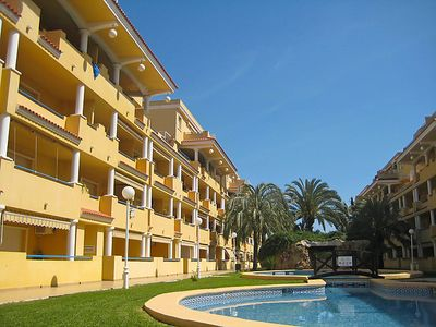Photo for Denia Apartment, Sleeps 4 with Pool, Air Con and Free WiFi