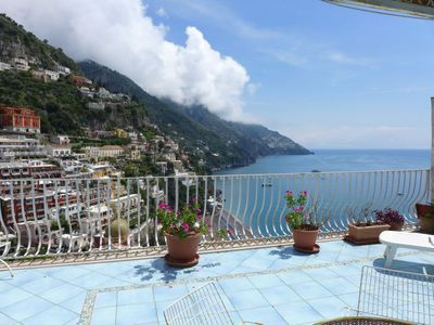 Photo for Vacation home Alba  in Positano, Amalfi Coast - 4 persons, 2 bedrooms