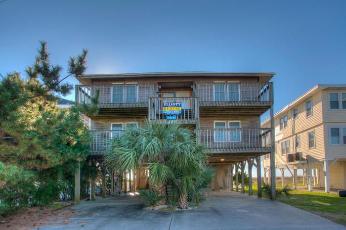 turtle joes  oceanfront home in cherry grove with pool and