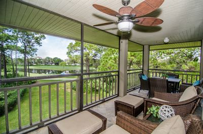 Wrap around Lanai (lake and golf course views)