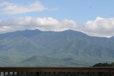 Beautiful view of Mt. LeConte! View from   condo and observation deck!