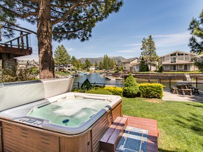 Photo for 3BR/3BA Ideal Waterfront House + Private Hot Tub, South Lake Tahoe, Sleeps 8