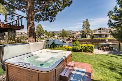 Hot Tub - Welcome to South Lake Tahoe! This home is professionally managed by TurnKey Vacation Rentals.