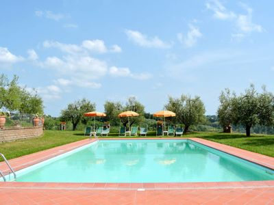 Photo for Vacation home Podere Val di Lama (MTC100) in Montecastello - 7 persons, 3 bedrooms
