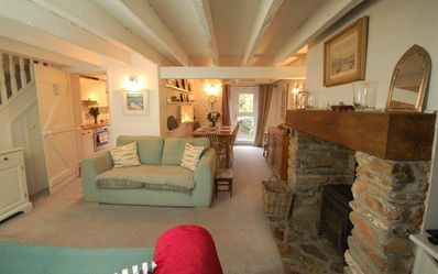 Photo for Oyster Cottage, Salcombe - A beautiful cosy cottage in private peaceful location