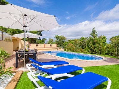 Photo for Club Villamar - Top notch villa with airco, privacy, private pool at just 3 km from the beach. Wh...