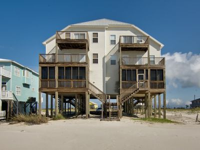Photo for Bar Harbor East - Spacious 6br Gulf Front Duplex Home, Sleeps 16