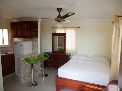 Photo for Standard Double Bed Studio-Smart TV-Premium Wi-Fi -Walking Distance to the Sea