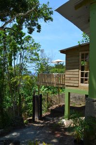 Photo for Bambu Cottage,  Private Tropical Hideaway With Amazing Views Of Ocean