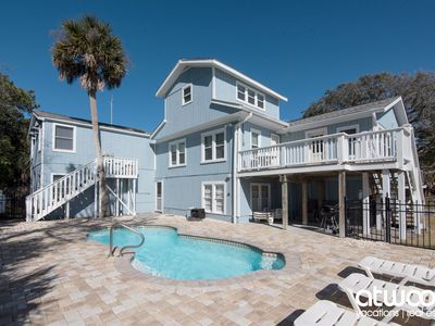 Photo for Angel Fish - Ocean Views with a Private Pool, Steps To the Beach