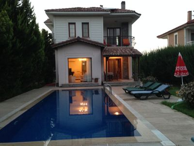 Photo for 2019 BİG DİSCOUNT £495 PW 3 Bed Private Villa+ Private Pool&very Peacful Locatio