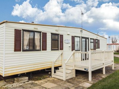Photo for 8 berth caravan for hire at California Cliffs  park Norfolk coast ref 50052