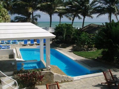Photo for Cabarete Beachfront Villa!! Excellent for Weddings/Families/Bachelor Parties