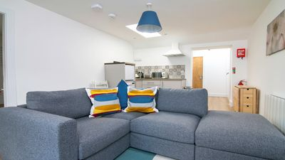 Photo for Executive Penthouse with views of Eyre Square. Sleeps 6. Parking nearby