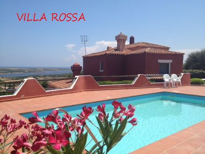Photo for WONDERFUL VILLA WITH SWIMMING POOL AND SEA VIEW. HOSTS 4/6 PEOPLE